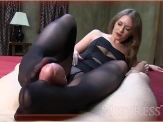 footjob mistress