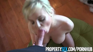 With as gift big escort home warming propertysex house buyer tits gets pussy cumshot