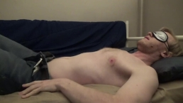 Blindfolded And Cumming Hard For Karen -- JohnnyIzFine