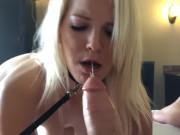 Public Sub Training - Slut on A Leash :)