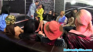 Babes reverse in pissing party gangbang cfnm blowjob reverse