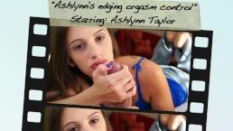 Ashlynn's edging orgasm control
