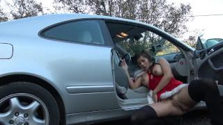 Alouqua squirt parking on public teen hot love vic by creampie jeune public