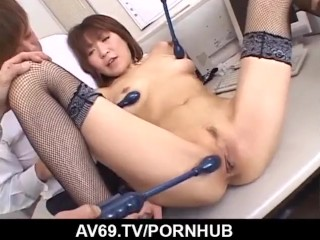 Jun Kusanagi amazing group porn in hardcore