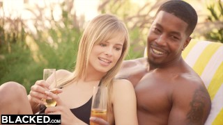 BLACKED Kendra Sunderland Interracial Obsession Part 2  bbc riding big-cock big-tits blonde blowjob ffm hairy-pussy reverse-cowgirl 3some blacked threesome big-dick doggystyle facial first-interracial
