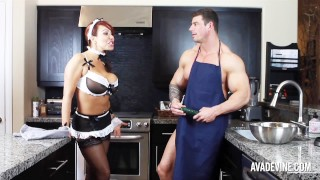 Screen Capture of Video Titled: Hot Anal Double Penatration Ava Devine Dirty Girl