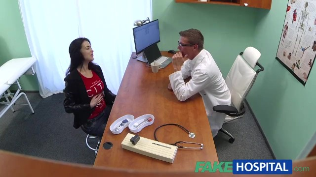 Breast cancer patient needs financial assistance Fakehospital sexy russian patient needs big hard cock to be prescribed