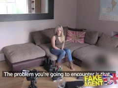 FakeAgentUK Petite Scottish stripper ...