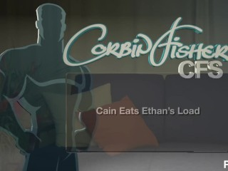 Corbin Fisher – Cain Eats Ethans Load – Scene 1