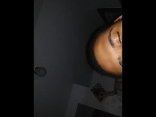 Cum right in my eye