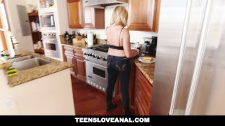 TeensLoveAnal - Boyfriend Pranks GF With Anal SEX Of babe