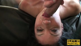 Fuck sub a rough uk disciplined rowdy with nose rough