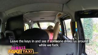 FemaleFakeTaxi Sexy cabbies get hot and horny