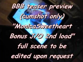 BBB teaser preview: MonicaSweetheart bonus (2ndLoad) JerkOff