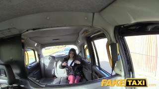 FakeTaxi Italian beauty gets deep anal sex faketaxi amateur italian gagging rimming shaved spycam public car anal pov reality stockings camera petite