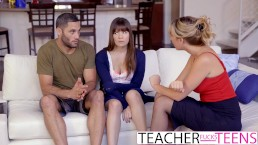 teacher fucking student porn Busty blonde teacher Phoenix is  trying to teach how to play flute to Jordi Porn for some weeks.