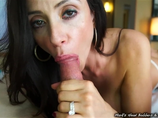Stepmother swallows son's load