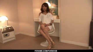 Blowjob aya dirty with sakuraba threesome skirt posing