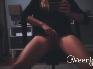 iPhone video of me Getting Off - Orgasm in my bedroom - Amateur fingering