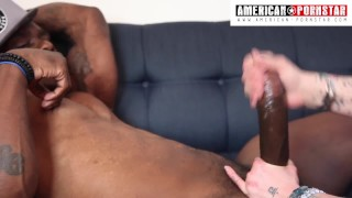 Inch  handjob monster homemade