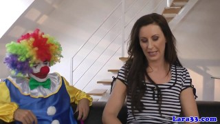 British lucky clown mature cocksucking glam european kink