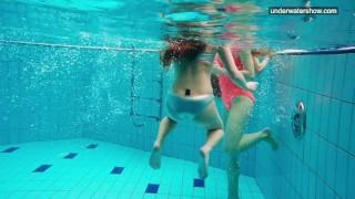 In  have fun girls the water nude beach nude