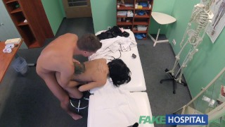 Fakehospital russian horny her doctor fucks and babe strips fake small