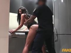 Fake Cop Female wanna be cop having hot sex