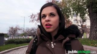 Mofos - Spanish Student's real Big Boobs
