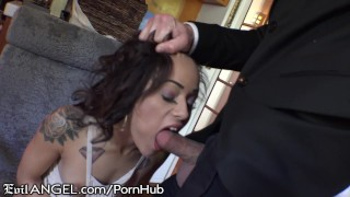 Preview 3 of Holly Hendrix Fingers Asshole and Fucked Hard