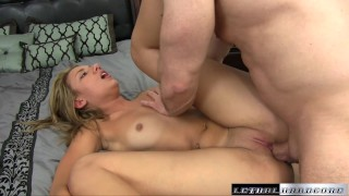 Teen Sophia wants her stepbrother to make her pussy squirt porno