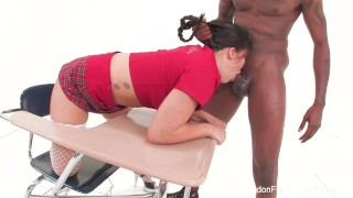 Loves london some schoolgirl cock black big asian stockings curvy