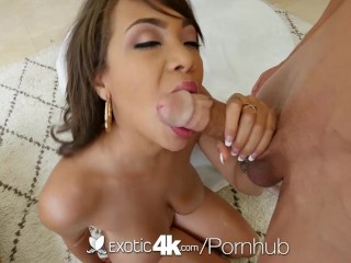Exotic4K – Busty ebony Cassidy Banks gets pussy stuffed by white cock