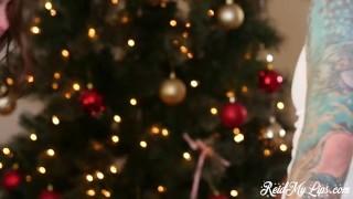 Preview 3 of Riley Reid Christmas Gangbang Reid My Lips