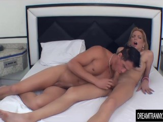 Flip Flop sex with a Big Dicked Girl