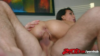 Strong john banged gets by janice griffith doggy tits
