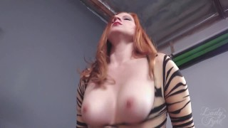 Cali Carter: Sexecutrix by Lady Fyre Femdom redhead breath play femdom face sitting executrix kink blonde fucking big boobs cali carter lady fyre threesome ass smothering facesitting laz fyre femme fatale