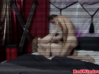 Real amsterdam blows client and gets pounded