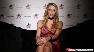 Nikki Benz & Tori Black judging girls blowjob skills in DPStar Season 3 Ep5