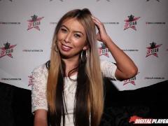 DP Star 3 – Petite Blonde Pornstar Kat Dior Deep Throat Blowjob