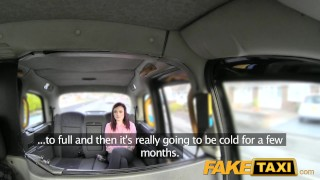 Preview 2 of FakeTaxi Petite American redhead does anal