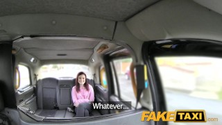 Preview 3 of FakeTaxi Petite American redhead does anal