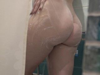 Pegging Love I Spy A Teen Student In The Shower And Fucked Her