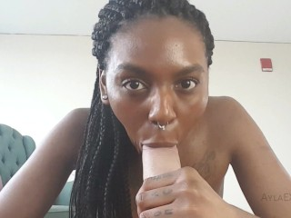 Ayla - Girlfriend Gives Blowjob with Dirty Talk