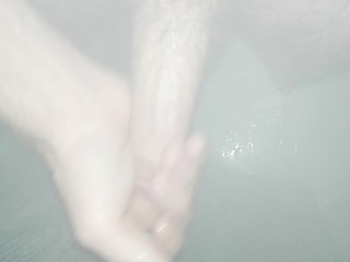 Just a Quick Tease in the Shower
