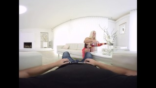 VR sex with busty round ass babe Blowjob gay