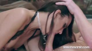 Abril double for spanish new carolina sensation facial brunette lingerie
