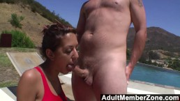 AdultMemberZone - Lyla wanted to shoot her first porn in the sun