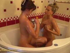 real lesbian nuru massage sex