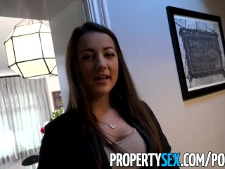 PropertySex - Rocking body real estate agent bones renter